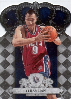 2009-10 Crown Royale #7 Yi Jianlian