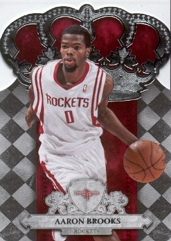 2009-10 Crown Royale #23 Aaron Brooks
