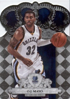 2009-10 Crown Royale #26 O.J. Mayo