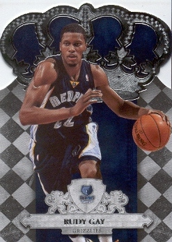 2009-10 Crown Royale #27 Rudy Gay