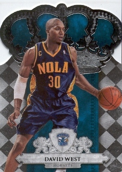 2009-10 Crown Royale #30 David West