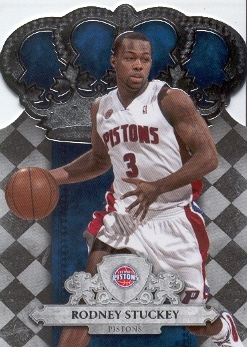 2009-10 Crown Royale #44 Rodney Stuckey