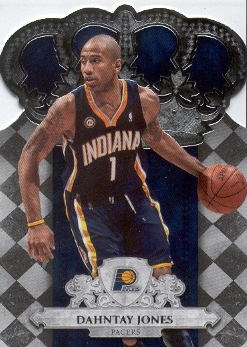 2009-10 Crown Royale #45 Dahntay Jones