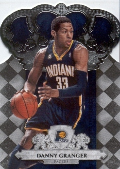2009-10 Crown Royale #46 Danny Granger