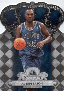 2009-10 Crown Royale #55 Al Jefferson