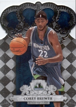 2009-10 Crown Royale #56 Corey Brewer