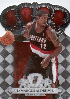 2009-10 Crown Royale #60 LaMarcus Aldridge