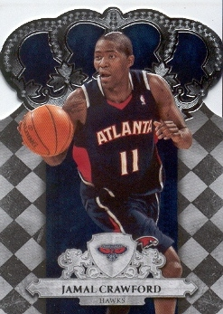 2009-10 Crown Royale #68 Jamal Crawford