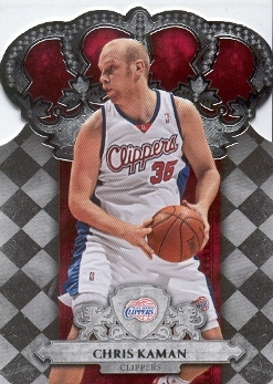 2009-10 Crown Royale #89 Chris Kaman