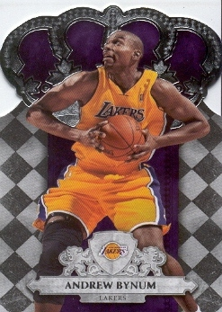 2009-10 Crown Royale #91 Andrew Bynum