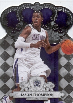 2009-10 Crown Royale #99 Jason Thompson