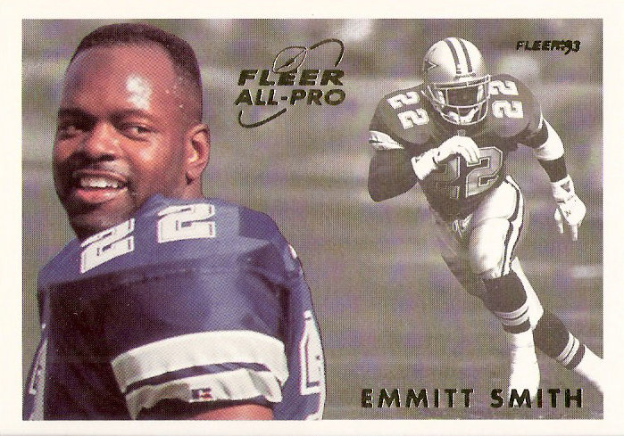 1993 Fleer All-Pros #19 Emmitt Smith
