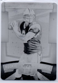 2010 Donruss Elite Printing Plates Black #157 Jimmy Clausen