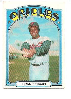 1972 Topps #100 Frank Robinson