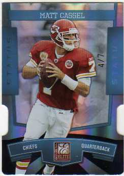 2010 Donruss Elite Status #50 Matt Cassel/7