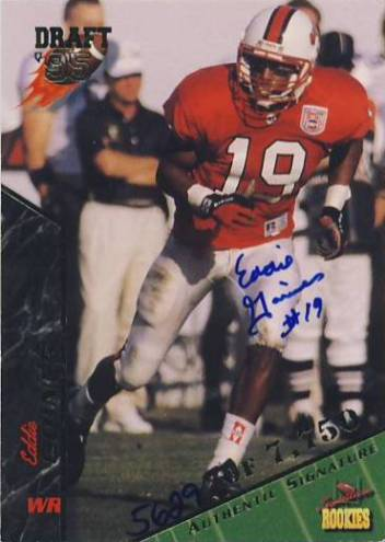 1995 Signature Rookies Autographs #32 Eddie Goines