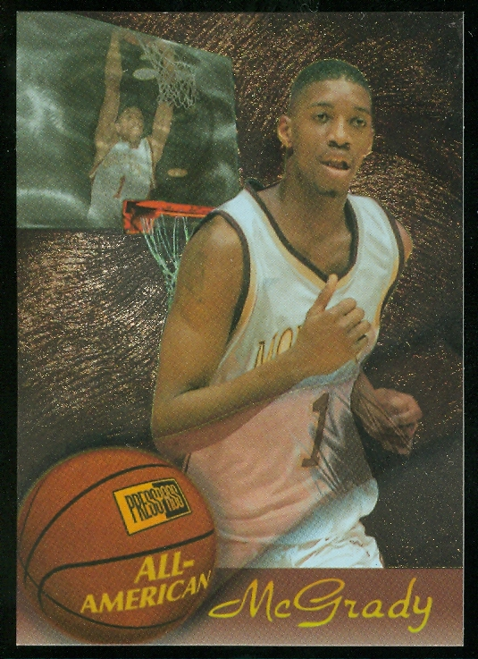 1997 Press Pass All-American #A4 Tracy McGrady