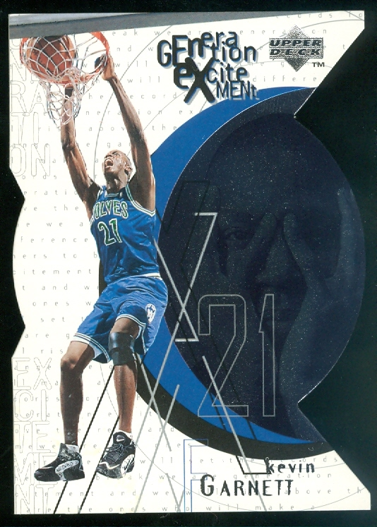 1996-97 Upper Deck Generation Excitement #G10 Kevin Garnett
