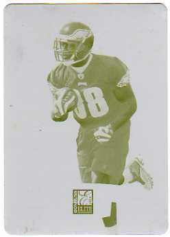 2010 Donruss Elite Printing Plates Yellow #141 Charles Scott