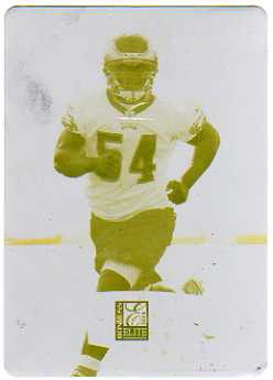 2010 Donruss Elite Printing Plates Yellow #143 Brandon Graham