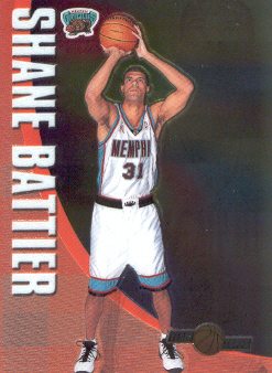 2001-02 Topps Chrome Team Topps #TT11 Shane Battier