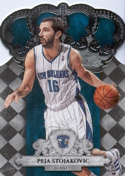 2009-10 Crown Royale #31 Peja Stojakovic