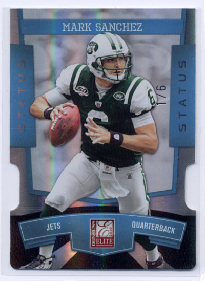 2010 Donruss Elite Status #67 Mark Sanchez/6