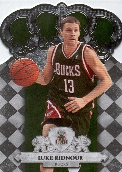 2009-10 Crown Royale #50 Luke Ridnour