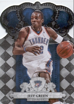 2009-10 Crown Royale #61 Jeff Green