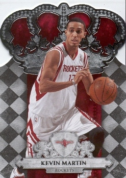 2009-10 Crown Royale #100 Kevin Martin