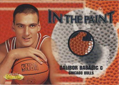 2000-01 Fleer Showcase In the Paint #P23 Dalibor Bagaric
