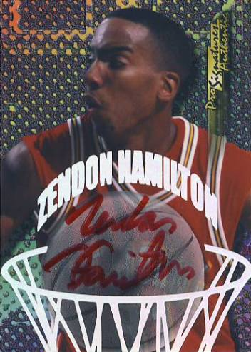 1998 Collector's Edge Impulse Pro Signatures #18 Zendon Hamilton