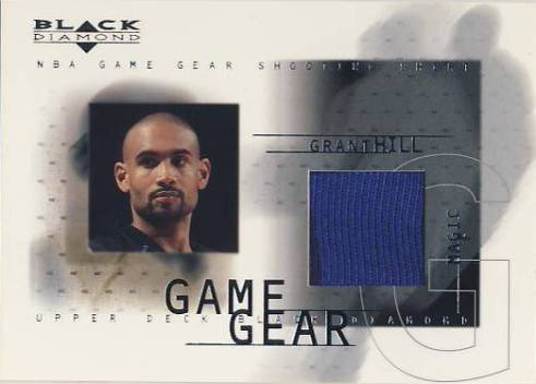 2000-01 Black Diamond Game Gear #GH Grant Hill