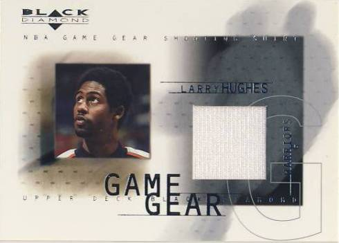 2000-01 Black Diamond Game Gear #LH Larry Hughes