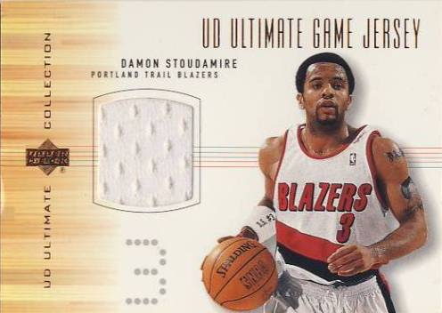 2000-01 Ultimate Collection Game Jerseys Bronze #DSJ Damon Stoudamire