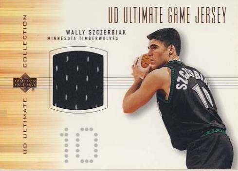 2000-01 Ultimate Collection Game Jerseys Bronze #WSJ Wally Szczerbiak