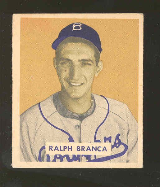 1949 Bowman #194 Ralph Branca RC