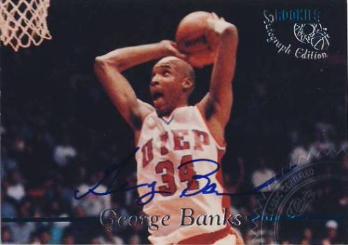 1995 Classic Autographs #44 George Banks/3240