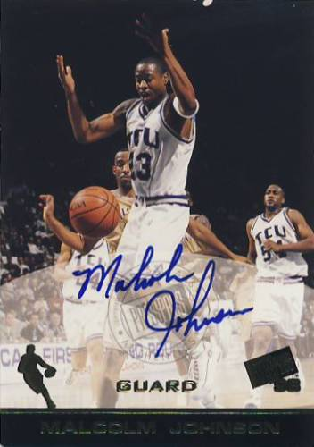 1998 Press Pass Autographs #18 Malcolm Johnson
