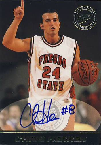 1999 Press Pass SE Autographs #22 Chris Herren