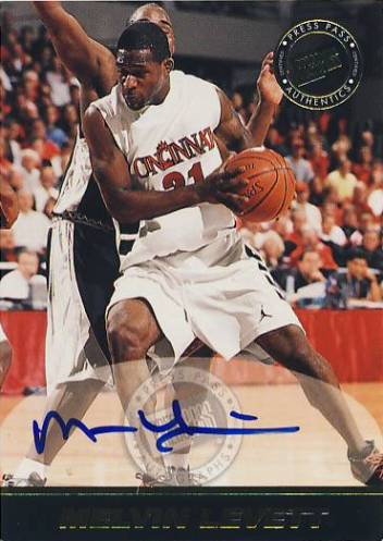 1999 Press Pass SE Autographs #26 Melvin Levett