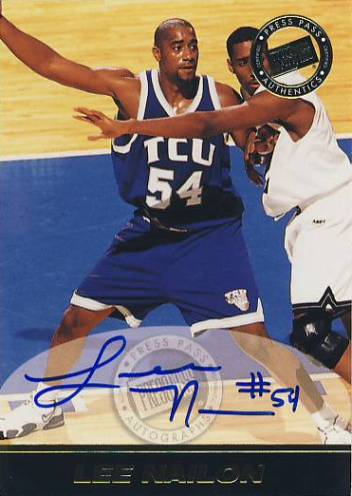 1999 Press Pass SE Autographs #31 Lee Nailon