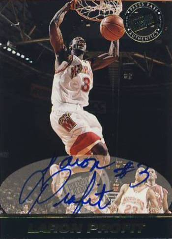 1999 Press Pass SE Autographs #33 Laron Profit