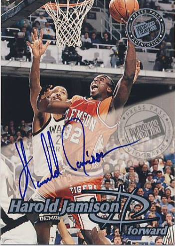 1999 Press Pass Autographs #36 Harold Jamison