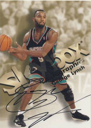 1998-99 SkyBox Premium Autographics #75 George Lynch