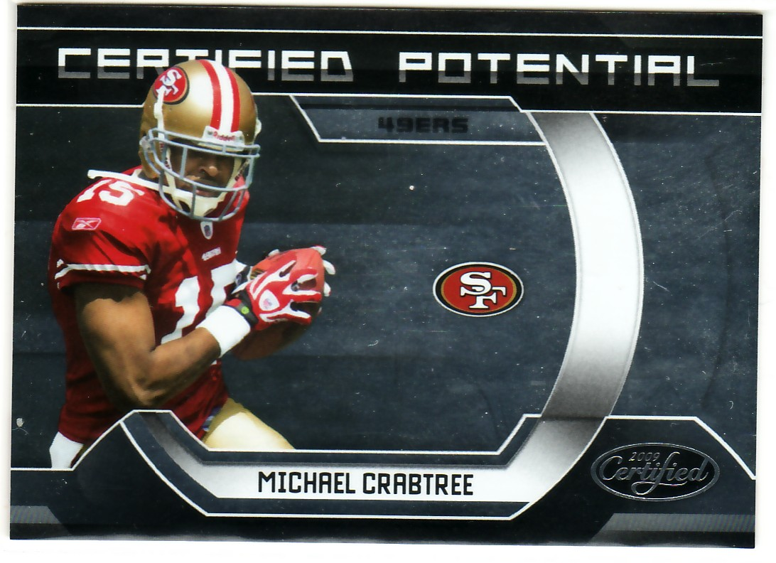 2009 Certified Certified Potential #13 Michael Crabtree