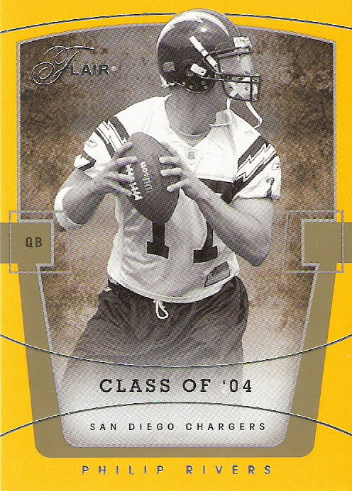 2004 Flair #75 Philip Rivers RC