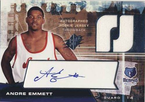 2004-05 SPx Throwback #119 Andre Emmett JSY AU