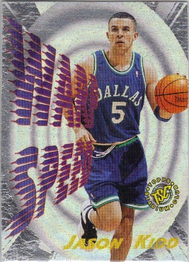 1995-96 Stadium Club Warp Speed #WS8 Jason Kidd