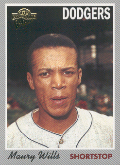 2003 Topps All-Time Fan Favorites #79 Maury Wills